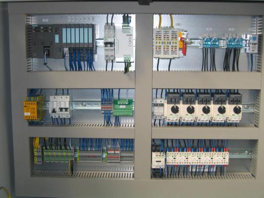 Simbologia Schemi Elettrici Industriali : Quadri elettrici per automazione bordo macchina e quadri